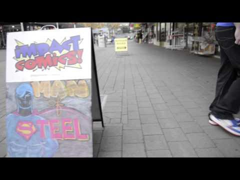 Impact Comics - Man of Steel Commercial