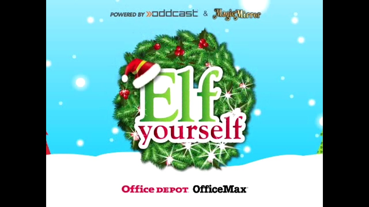 Minecraft mobs christmas celebration elf yourself by - Office max elf yourself free download ...