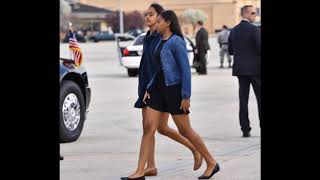 Sasha Obama   Barack Obama & Michelle Obama's Daughter   2017