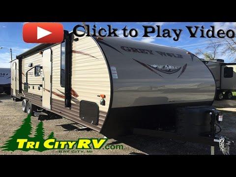 Forest River Cherokee Grey Wolf 26DBH Bunk House Travel Trailer- Tri City RV- Bay City, MI