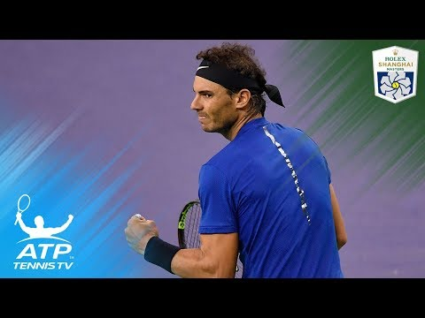 Federer, Nadal, Dimitrov in Best Hot Shots and Rallies | Shanghai Rolex Masters 2017