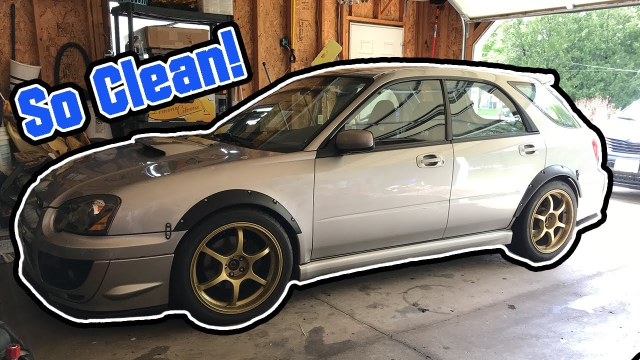 Roof Rail Delete On The Wrx Wagon Youtube