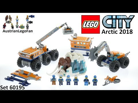 Lego City 60195 Arctic Mobile Exploration Base - Lego Speed Build Review