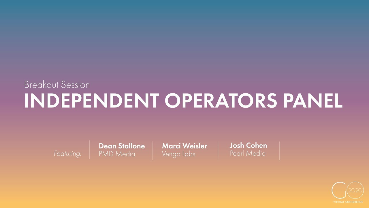 Breakout Session | Independent Operators Panel