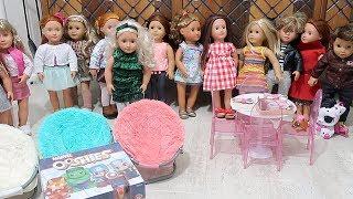 Bebeklerle Oyuncak Oynuyorum Challenge! Bir Tam Kutu Ooshies Our Generation Kıyafet Bidünya Oyuncak