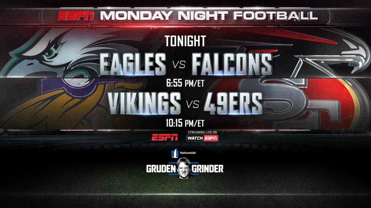 Monday Night Football Kicks Off Youtube