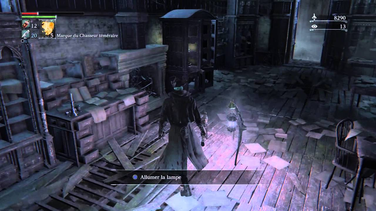 bloodborne trouver le vieil atelier abandonn find the abandoned old workshop youtube. Black Bedroom Furniture Sets. Home Design Ideas