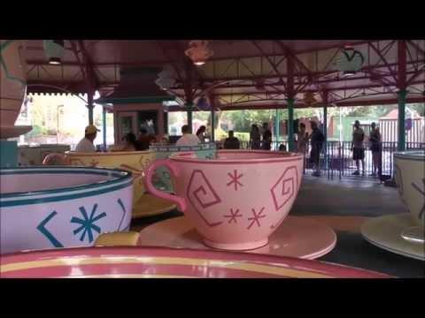 Mad Tea Party, Magic Kingdom, Walt Disney World HD (1080p)