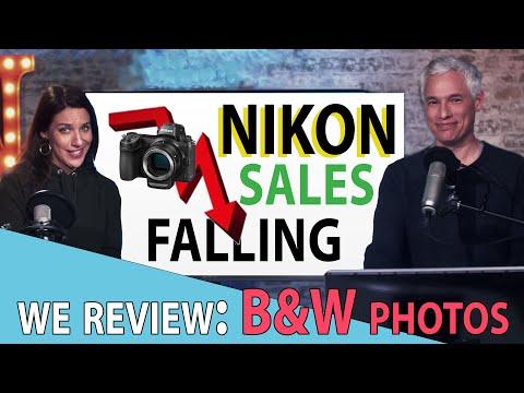 NIKON sales FALLING! B&W photo review: TC LIVE