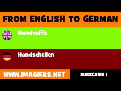 Handschellen Englisch