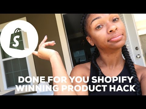 FINDING WINNING SHOPIFY PRODUCT HACK thumbnail
