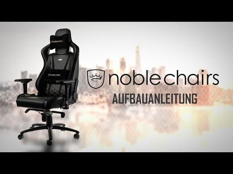 noblechairs EPIC Series Aufbauanleitung - Caseking TV