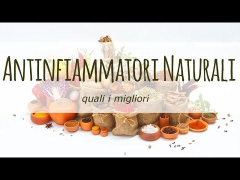 I migliori antinfiammatori naturali
