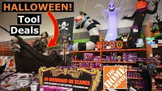 Home Depot 4K Best Halloween Decorations Display 2019! Tool Deals