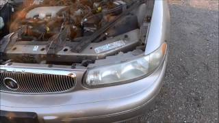 How to take out the headlight of a 1997 2005 Buick Century