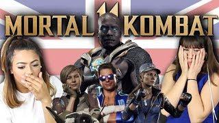 British People React To MORTAL KOMBAT 11 (FATALITIES - GERAS, RAIDEN, CASSIE CAGE, KANO & MORE)