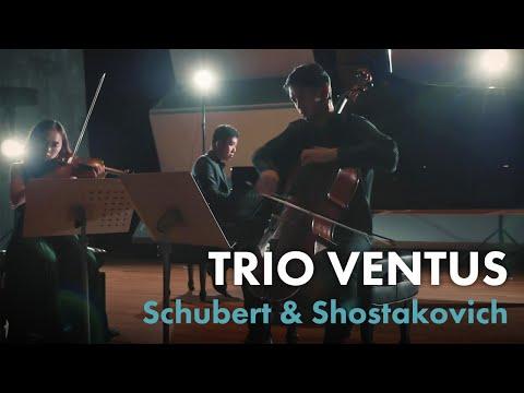 【TRIO VENTUS トリオ・ヴェントゥス 】TRIO VENTUS 1stCD発売記念PV第1弾 ショスタコーヴィチ:ピアノ三重奏曲第2番 Shostakovich PianoTrioNo.2