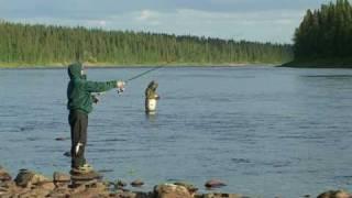 На севере. www.fishingtvclub.ru(Клип на песню Анатолия Полотно