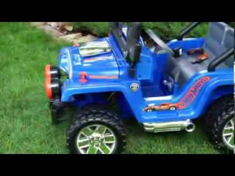 Fisher-Price Power Wheels Jeep Riding Toy - Product Review Video