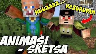 Erpan KESURUPAN !! Setan Harimau - Minecraft Animation Indonesia