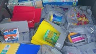 Stranger donates school supplies to APS teacher
