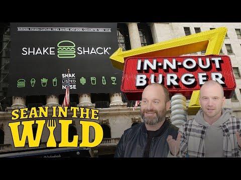In-N-Out Vs. Shake Shack Taste Test with Tom Segura | Sean in the Wild