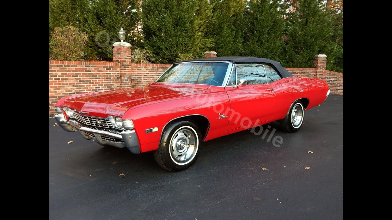 1968 Impala SS Convertible for sale Old Town Automobile in ...