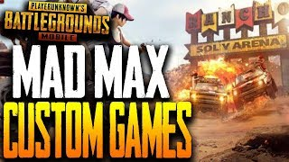 MAD MAX CUSTOM GAMES - SHOOT IN VEHICLES ONLY in PUBG MOBILE