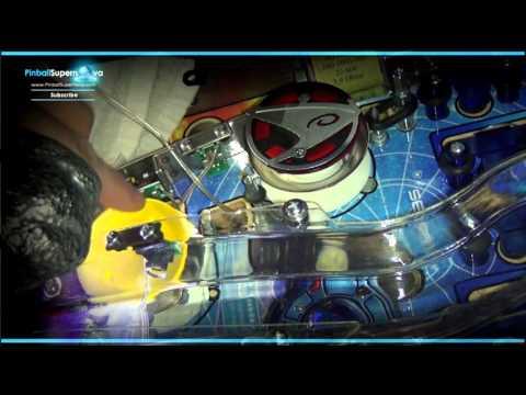Pinball Mods # 23 : Stern Star Trek Prem : Zitt Pop Bumper Caps Install, Ramp Protectors
