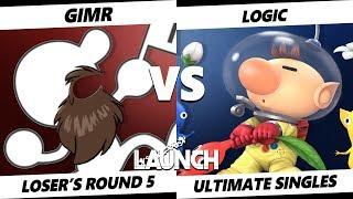 Launch Smash Ultimate - VGBC | Logic (Olimar) VS VGBC | GimR (Mr. Game & Watch) SSBU Loser's Round 5