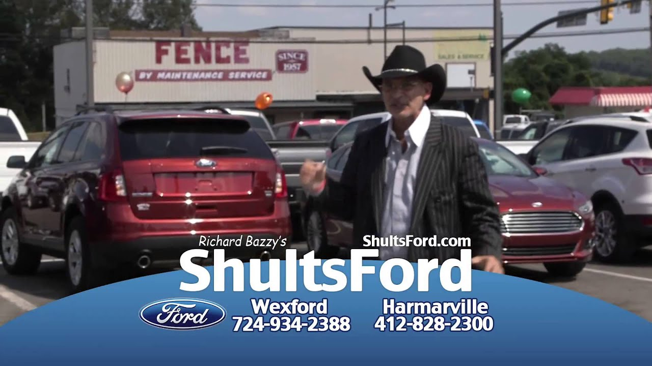 Richard Bazzy S Shults Ford Lincoln September 2014 Specials Youtube