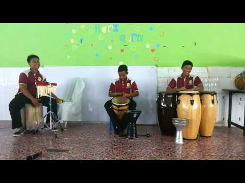 Intro nasyid percussion from AnNajah