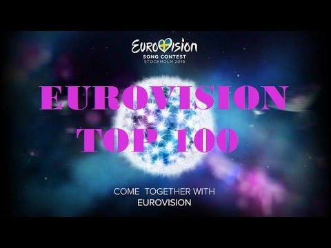 Top 100 Eurovision Songs (1994-2016)