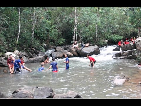 An Long Khmeng Leng Resort in Cambodia | Waterfall Resort in Kampong Speu