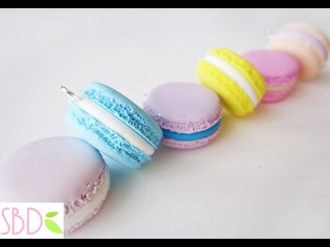 Macarons in fimo - DIY Fimo clay macarons