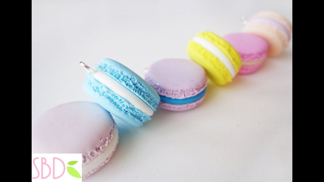macarons in fimo diy fimo clay macarons youtube. Black Bedroom Furniture Sets. Home Design Ideas