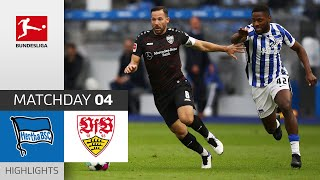 #bscvfb | highlights from matchday 4!► sub now: https://redirect.bundesliga.com/_bwcs watch the bundesliga of hertha berlin vs. vfb stuttgart from...