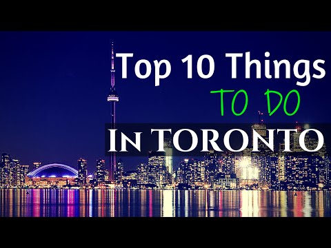 Top 10 Things To Do In Toronto! #runningthroughthe6withmywoes