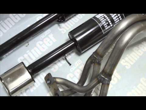 Система StinGer 63 труба, Паук, резонатор, глушитель на Приору седан 16 кл