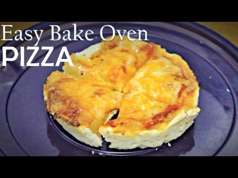 Easy Bake Oven Pizza!