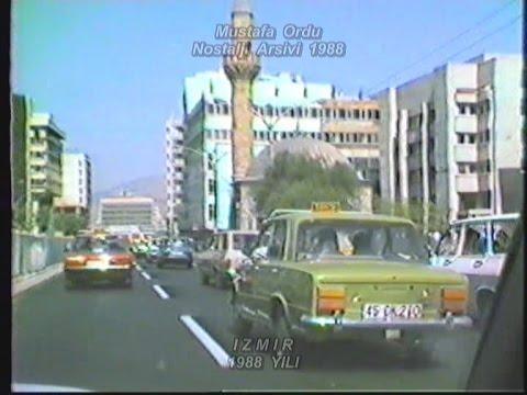 1988 İzmir'inde Çeşme'den Alsancak'a Yolculuk