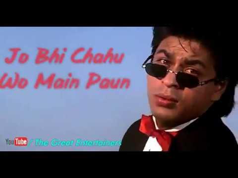 Chand Taare Tod | WhatsApp Status Song | Shahrukh Khan