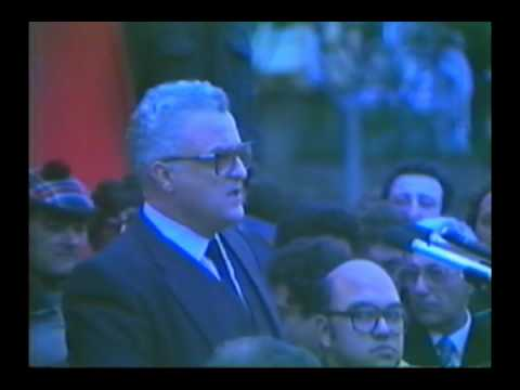 Mass Meeting - Fosos - 4th December, 1983