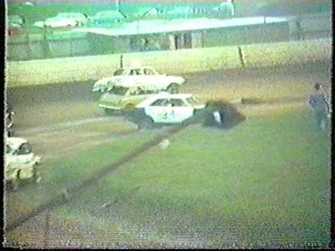 Banger Racing Race #3 Boston Stadium 1984