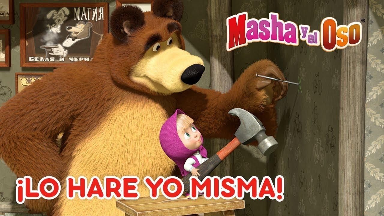 Download Masha y el Oso - 🙋 ¡Lo Haré Yo Misma! 👑