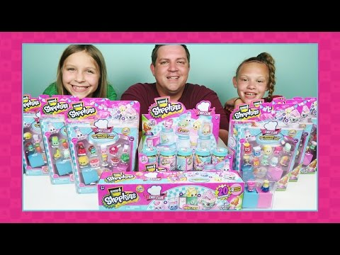 Shopkins Season 6 Toy Hunt & Opening...