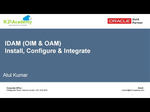 IDAM ( OAM & OIM ) Installation Overview : How To Install IDAM