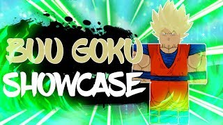 New Buu Saga Goku Full Showcase in Anime Battle Arena | Roblox | TerraBlox