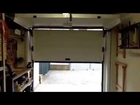 delta overlap garage door youtube