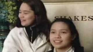 Lea Salonga and Monique wilson on final auditions.